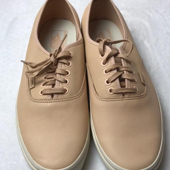 173286158d Vans Authentic DX Veggie Tan Leather unisex shoes